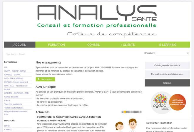 Analys-Santé - Web